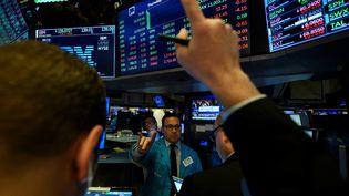 Salle du New York Stock Exchange (NYSE) à New York. Photo d'illustration. (AFP)