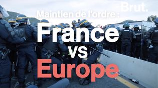 VIDEO. Maintien de l'ordre France Vs Europe : quelles différences ?  (BRUT)