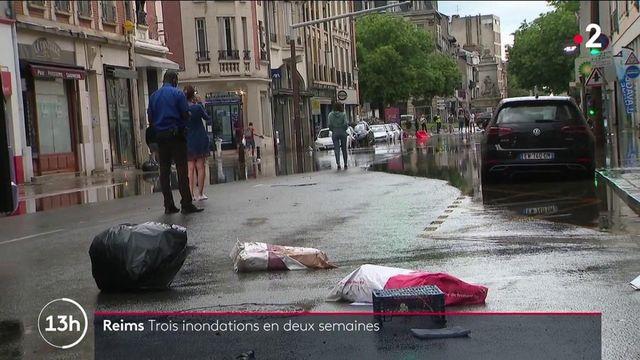 Reims : la ville inondée pour la troisième fois en deux semaines