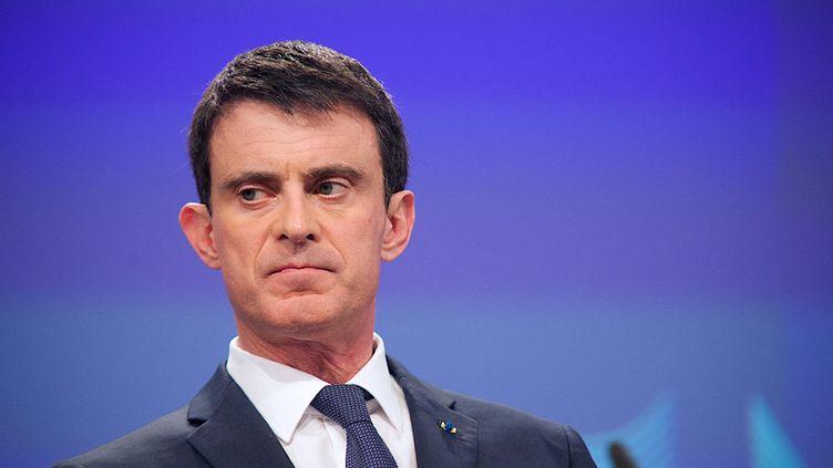 (Le Premier ministre n'a pas ménagé ses relations avec les frondeurs © MaxPPP)