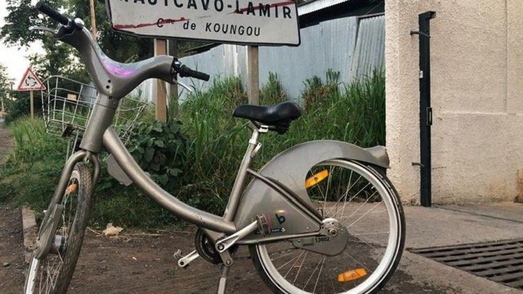 Le Vélib' a été découvert à Mayotte, le 13 décembre 2018. (GENDARMERIE DE MAYOTTE)
