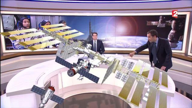 Espace : à l'intérieur de la station spatiale internationale
