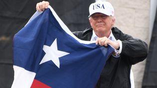 Le président américain Donald Trump le 29 août 2017 à Corpus Christi (Texas). (JIM WATSON / AFP)