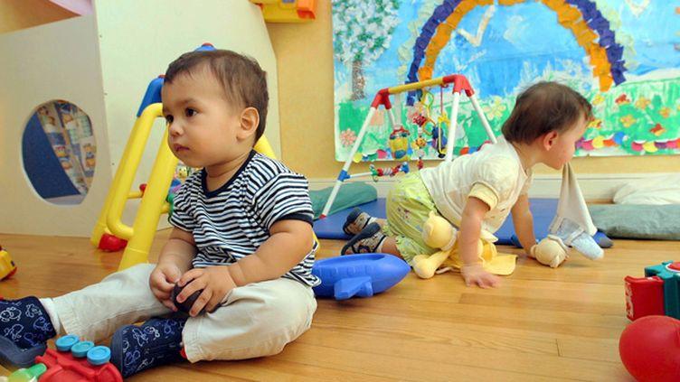 (En France, on compte 2,4 millions d'enfants de moins de 3 ans pour seulement 400.000 places en crèche © MaxPPP)