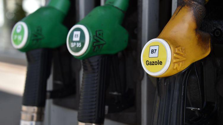 Le litre d'essencesans-plomb95 a augmenté de 1,48 centime. (MAXPPP)