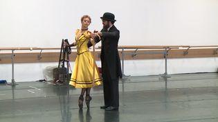 """Répétition de """"Toulouse-Lautrec"""" au ballet du Capitole de Toulouse (France 3 Occitanie)"""