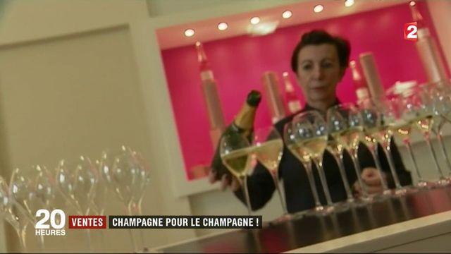 Le champagne enregistre des ventes record