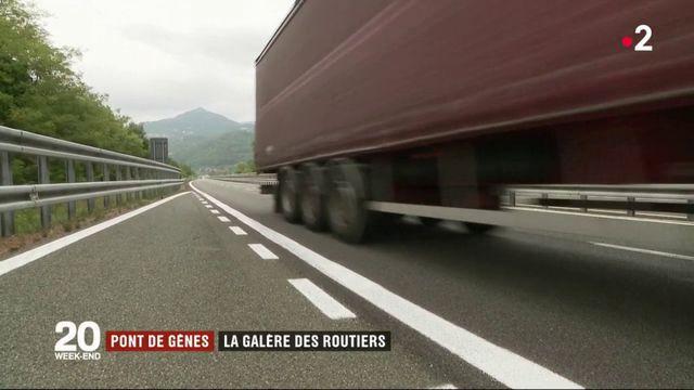 Pont de Gênes : la galère des routiers