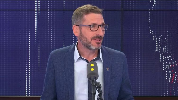Matthieu Orphelin, sur franceinfo, vendredi 11 octobre 2019. (FRANCEINFO / RADIOFRANCE)