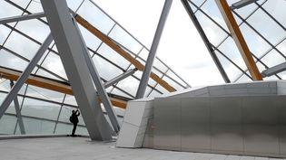 Une des terrasses de la Fondation Louis Vuitton à Paris  (Photo Valérie Oddos / Culturebox / France Télévisions)