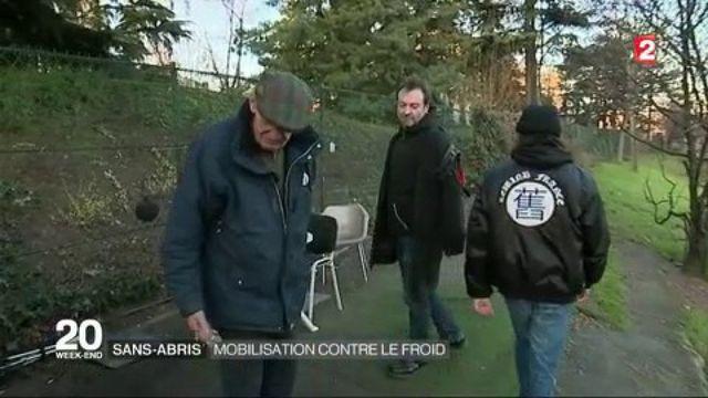 Sans-abri : mobilisation contre le grand froid