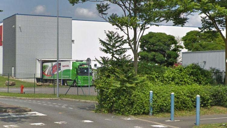 Plateforme logisitique de l'entreprise XPO Logistics à Fleury-Mérogis. (GOOGLE STREET VIEW)