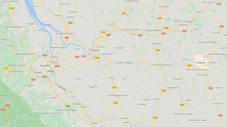 Un homme de 29 ans aété mis en examen à Bergerac (Dordogne), pour atteinte sexuelle sur mineur de moins de 15 ans. (GOOGLE MAPS)