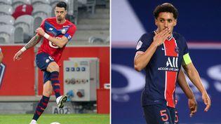 La course au titre se jouera à la 38e et dernière journée entre Lille et le PSG. (AFP)