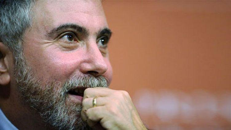 Paul Krugman, prix Nobel d'économie 2008 (AFP/JEFF ZELEVANSKY)