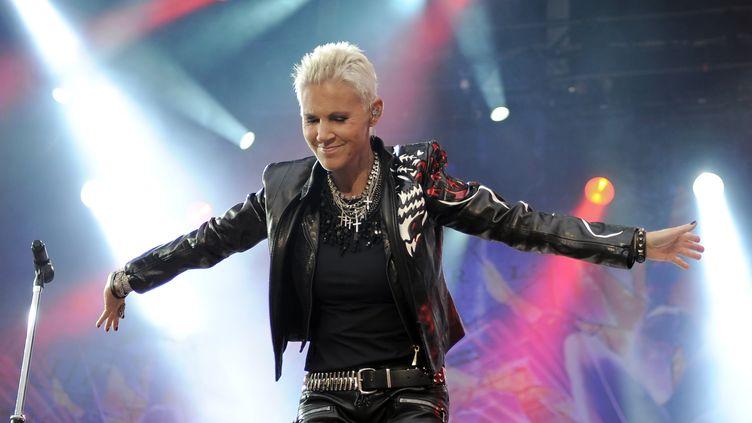Marie Freriksson en concert à Berlin le 11 juin 2011. (BRITTA PEDERSEN / DPA)