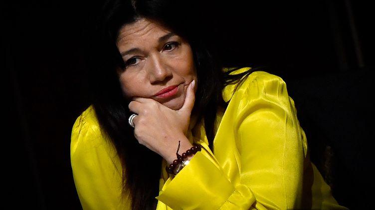 Samia Ghali, sénatrice et élue municipale marseillaise, le 27 janvier 2020 à Marseille. (GERARD JULIEN / AFP)