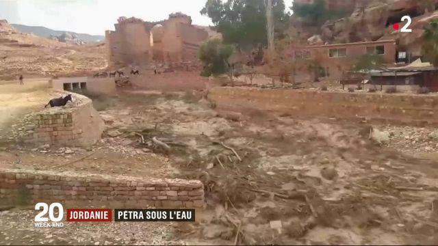 Jordanie : Petra sous l'eau
