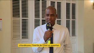 Le député de Martinique Serge Letchimy (FRANCEINFO)