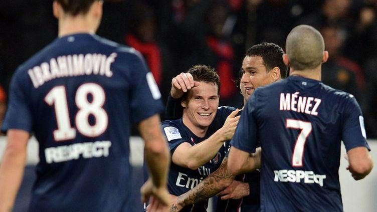 Kevin Gameiro a marqué pour sa première titularisation (FRANCK FIFE / AFP)