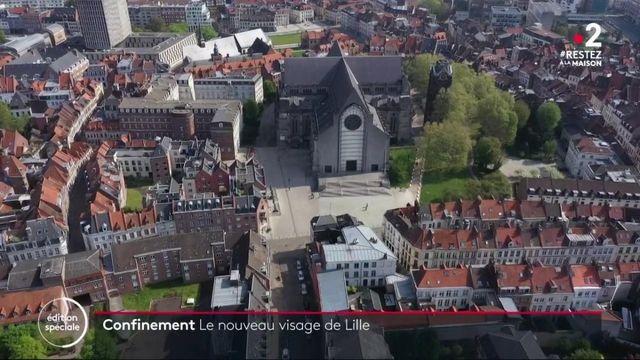 Lille : la ville à l'arrêt pendant le confinement