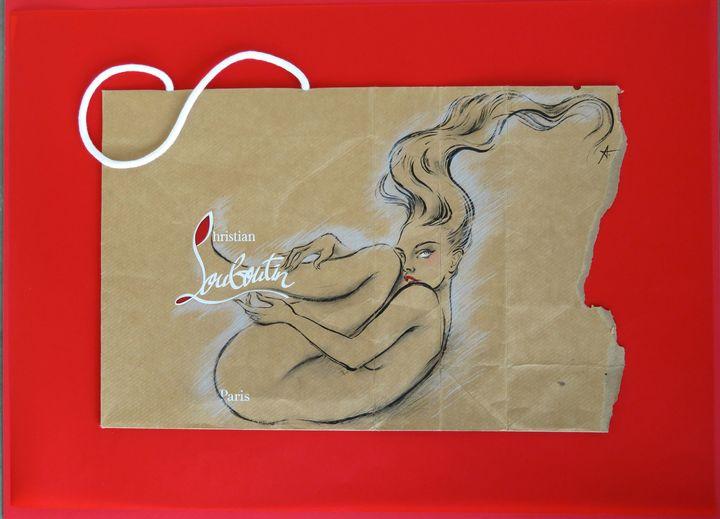 """""""Fashion Illustrators"""" : Miss Louboots d'Antoine Kruk  (Antoine Kruk)"""