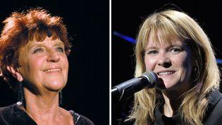 Anne Sylvestre en concert à Paris, à l'Auditorium Saint-Germain, le 4 novembre 2003 ;Agnès Bihl en concert à Paris, à l'Européen, le 12 novembre 2013  (Stéphane de Sakutin (AFP) / Edmond Sadaka / Sipa )