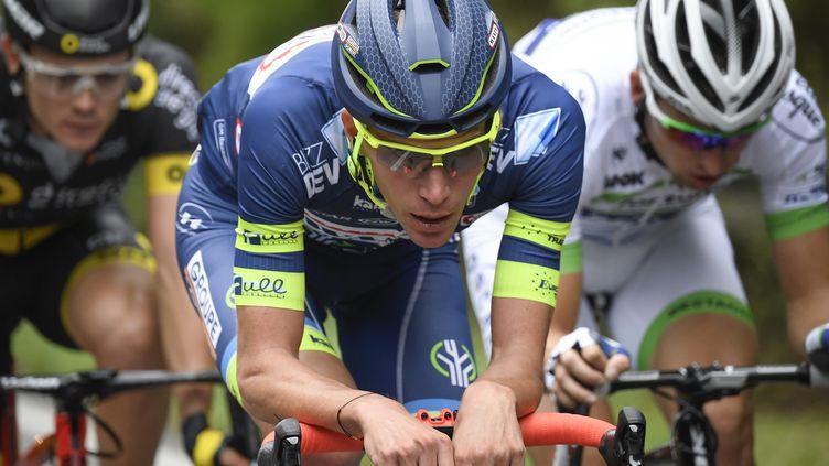 Yoann Offredo, animateur de ce début de Tour de France (LIONEL BONAVENTURE / AFP)