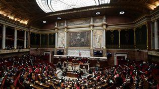 Les députés de l'Assemblée nationale à Paris, le 19 décembre 2018. (PHILIPPE LOPEZ / AFP)