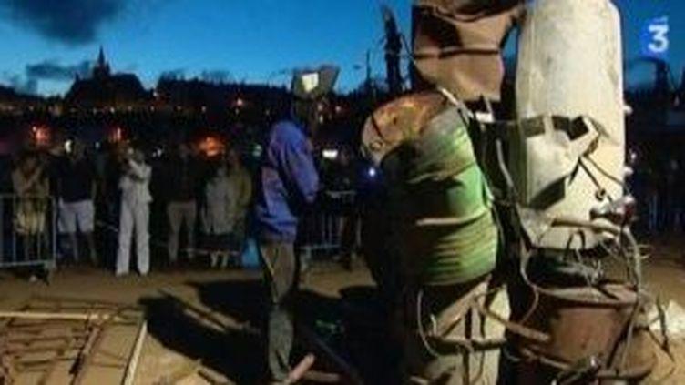La Nuit des Soudeurs fait des étincelles sur le port de Ganville  (Culturebox)