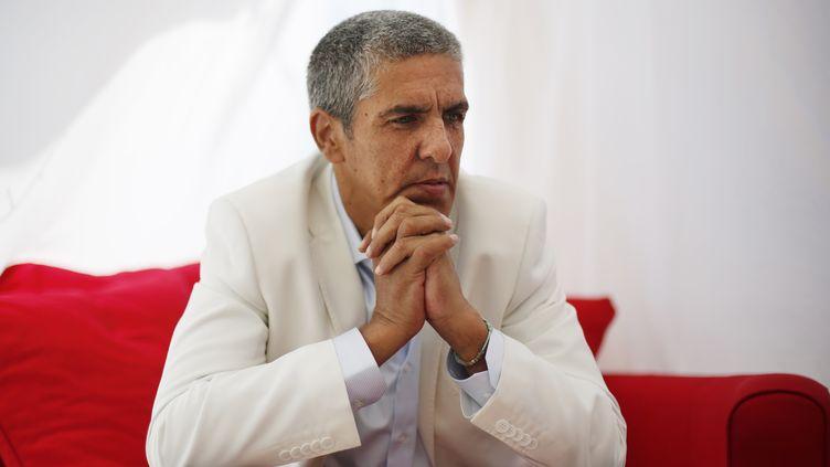 Samy Naceri, le 19 mai 2013 au Festival de Cannes. (LOIC VENANCE / AFP)