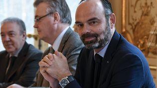 Edouard Philippe à Matignon, le 26 novembre 2019. (BERTRAND GUAY / AFP)
