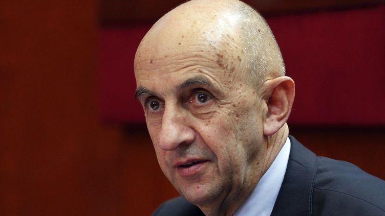 Louis Gallois, le 10 juillet 2012. (CHARLES PLATIAU / AFP)