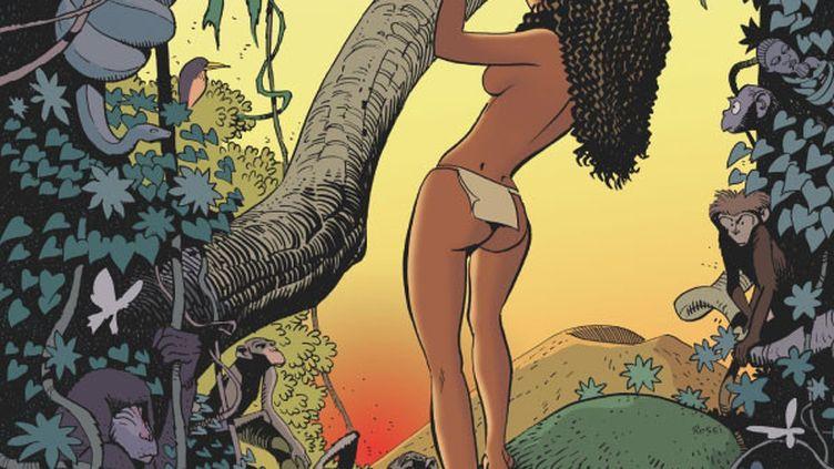 """La couverture de """"Niala"""", une BD de Jean-Christophe Deveney et Christian Rossi (EDITIONS GLENAT)"""