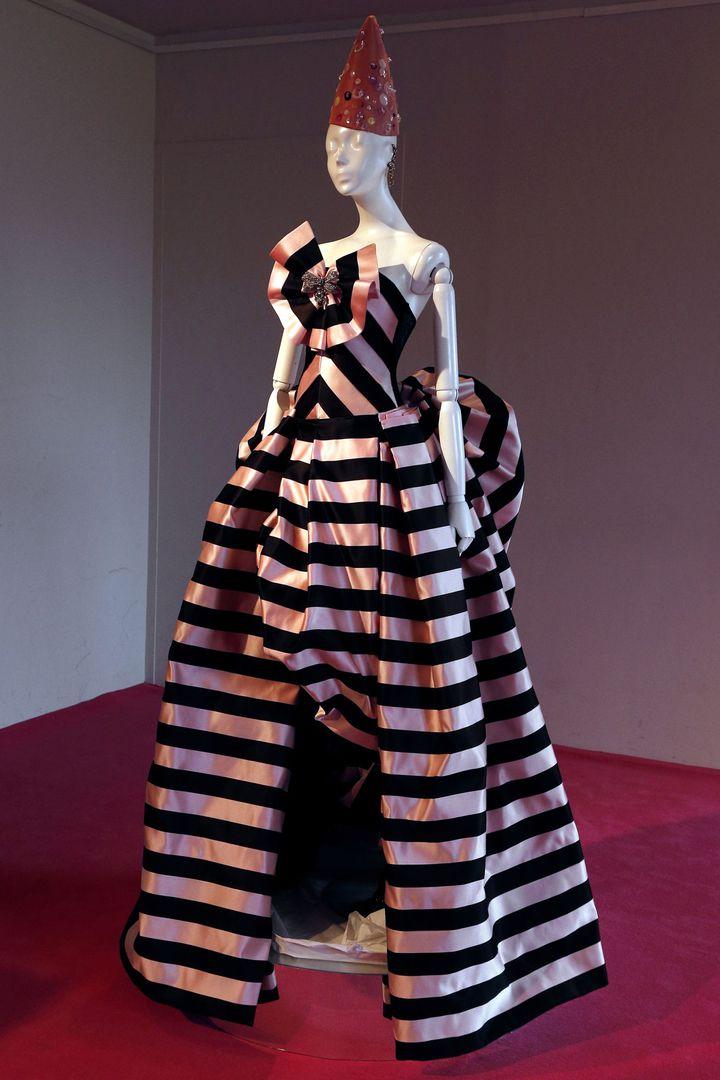 Christian Lacroix dessine une collection couture pour Elsa Schiaparelli  (F.Guillot /AFP)