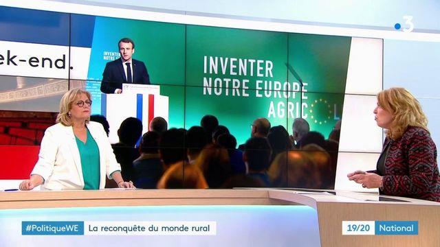 Emmanuel Macron à la reconquête du monde rural au Salon de l'agriculture