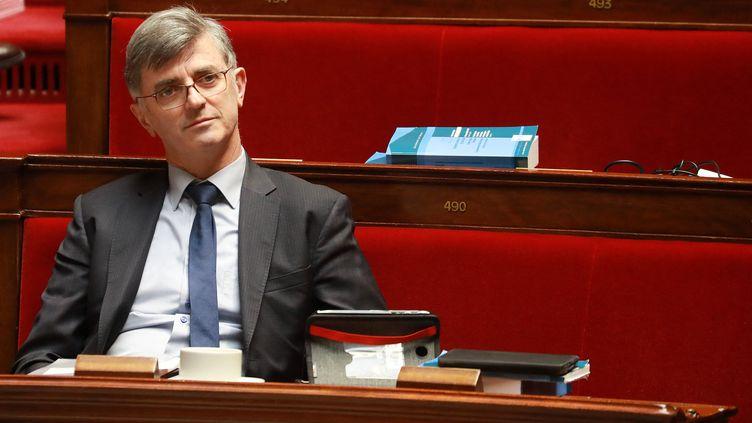 Jacques Maire, député de La République en marche à l'Assemblée nationale, le 24 février 2020. (LUDOVIC MARIN / AFP)