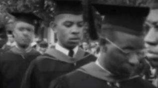 Aux États-Unis, les jeunes noirs font le choix d'étudier dans des universités particulières, dédiées à la communauté afro-américaine. (FRANCE 2)