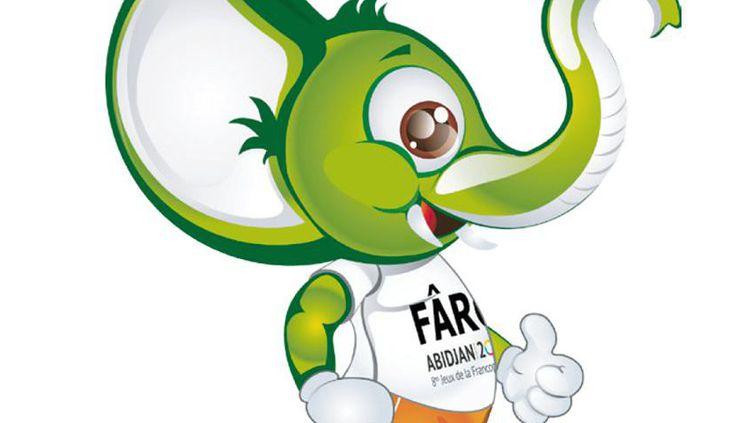 Farô, la mascotte des jeux de la Francophonie ©qui se tiennent en Côte d'Ivoire du 21 au 30 juillet 2017