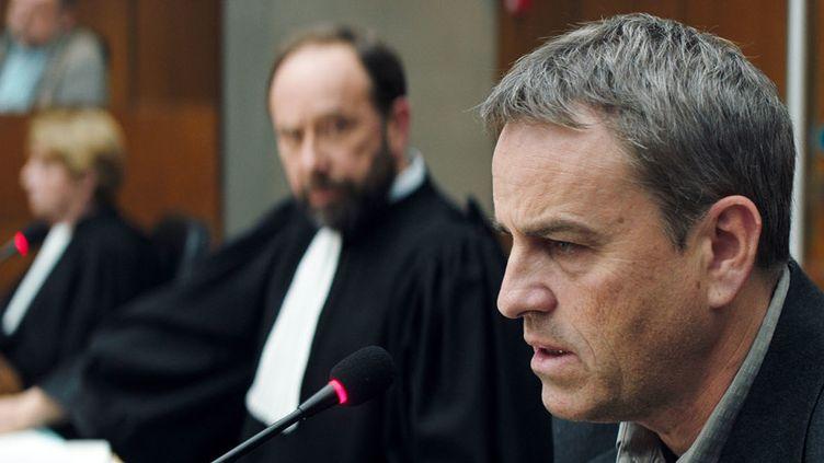 """Laurent Lucas et Olivier Gourmet dans """"Une intime conviction""""  (Séverine Brigeot)"""