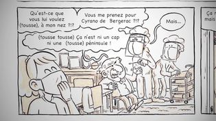 """Faire face"", une BD du collectif The Ink link en partenariat avec le CHU de Bordeaux. (France 3 Aquitaine)"