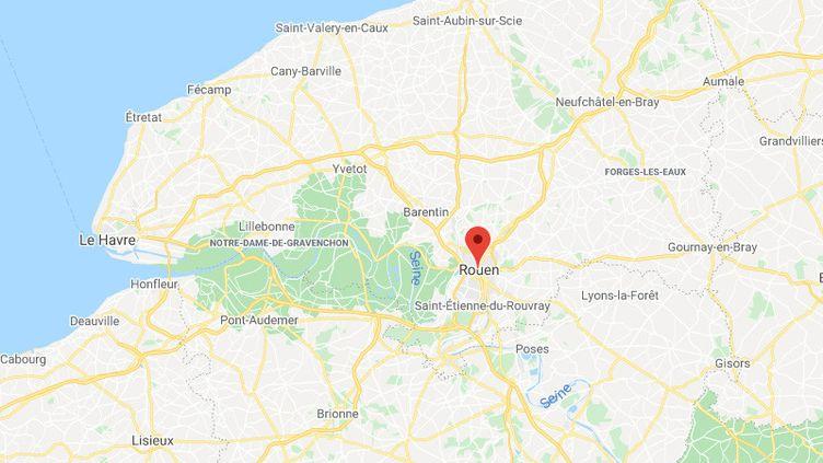 Rouen. (GOOGLE MAPS)