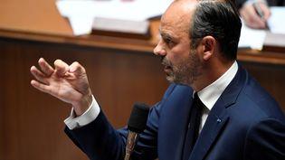 Le Premier ministre Edouard Philippe à l'Assemblée nationale le 24 juillet 2018. (BERTRAND GUAY / AFP)