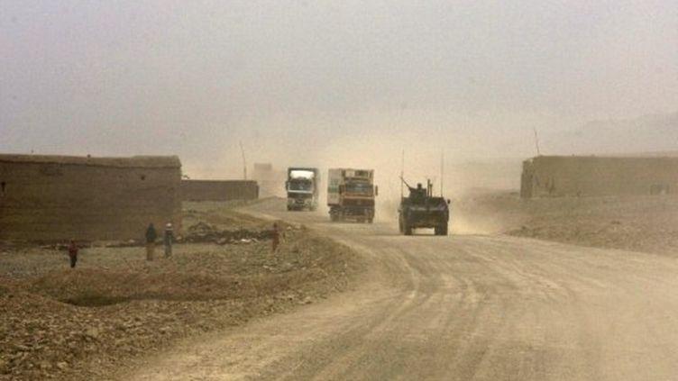 La vallée de la Kapisa, en Afghanistan, où Stéphane Taponier et Hervé Ghesquière ont été retenus 18 mois (AFP / Aymeric Vincenot)
