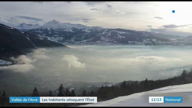 Vallée de l'Arve : les habitants attaquent l'État sur la pollution de l'air