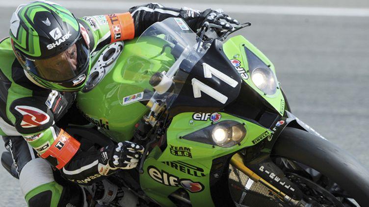 La Kawasaki N.11 sur le circuit des 24 Heures du Mans (JEAN-FRANCOIS MONIER / AFP)