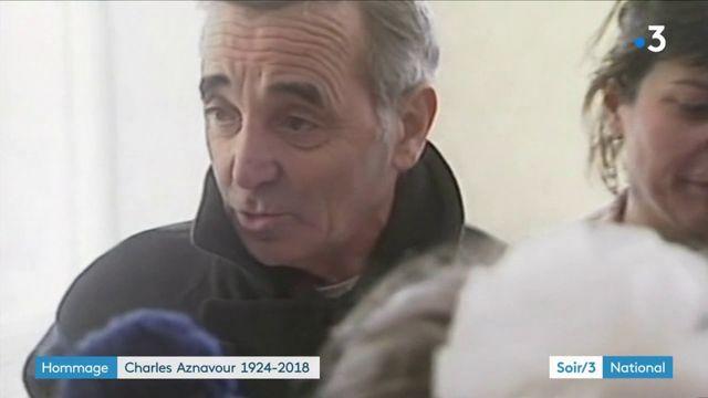 Charles Aznavour, un héros pour l'Arménie