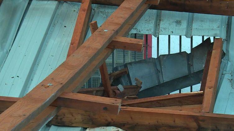 Tempête Alex : le Morbihan se relève d'une nuit agitée (FRANCEINFO)