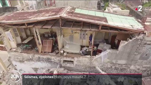 """Haïti est inlassablement frappé par des catastrophes naturelles comme le séisme du samedi 14 août. Comment expliquer ces multiples drames sur cette île pourtant surnommée """"perle des Antilles"""" ?"""