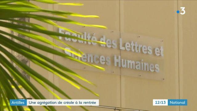 Antilles : l'agrégation pourra se faire en créole